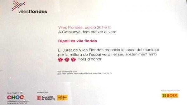 Diploma 2015 Viles Florides